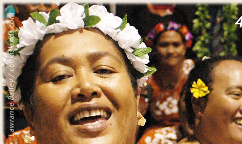 Group from _________ - Cook Islands 40th Constitution Day - 4th August 2005