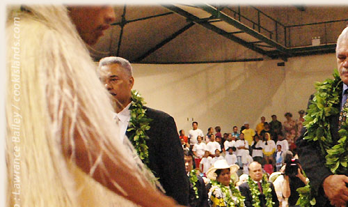 Hon. Prime Minister Jim Marurai - Cook Islands 40th Constitution Day - 4th August 2005