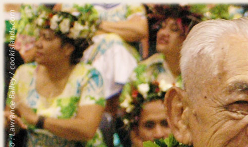 Sir Apenea Short - Cook Islands 40th Constitution Day - 4th August 2005