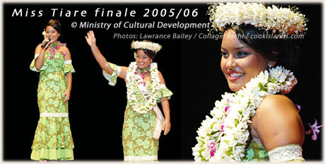 Miss Tiare 2005/2006 - Ani George - click to enlarge
