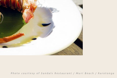 SANDALS RESTAURANT (Pacific Resort), Crayfish dish ;-)