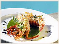 dish by Sandals Restaurant - Crayfish dish - click to enlarge