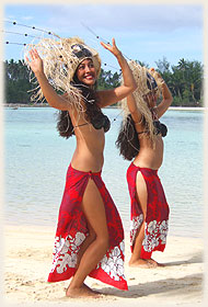 2 island dance girls